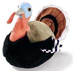 Wild Turkey - Audubon Plush Bird (Authentic Bird Sound)]()