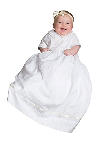 (Strasburg Children Babies Alex Christening Gown Baptism Dress Infant White Cross (6 Month) )