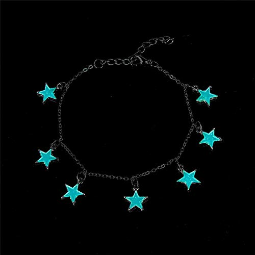 - Japanese Style Sofa - 1pc Star Heart Ing Bracelet Fashion Charm Bracelets In The Dark Jewelry - Hair Ankle Healing Slap Wrists Religion Silver Stress Officers Events Drinks Bulk Leather D