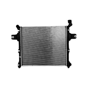 TYC 2840 Jeep 1-Row Plastic Aluminum Replacement Radiator