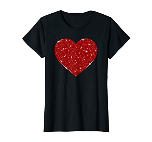 Red Heart Shirt - Red Heart Valentine's Day Cool T-Shirt