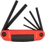 Ergo-Fold Hex Key Sets, 6 per set, Hex Tip, Inch (27 Pack)