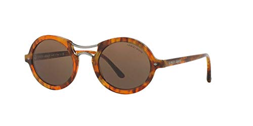 Striped Darkbrown Marrón Havana AR8072 Armani Sonnenbrille Giorgio FwgqORTO
