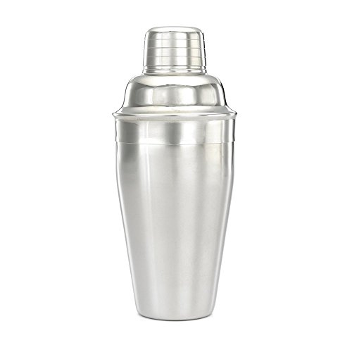 Barfly M36001 Cocktail Shaker, 17oz, Mirror Stainless Steel (17 Ounce Cocktail Shaker)