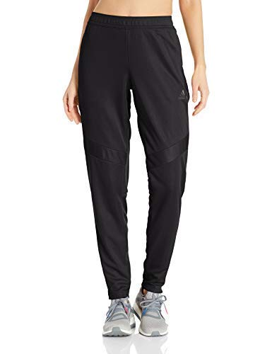 adidas Women's Soccer Tiro 19 Training Pant, Black/Blue Pearl Essence, XX-Small