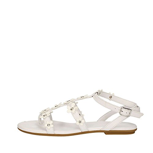 Inuovo Chaussures Sandales String Femmes 7158 Noir Blanc