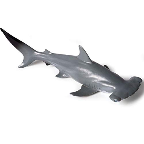- Kolobok - Sea Safari Animals Action Figures - Hammerhead Shark - Zoo Animals Educational Toys