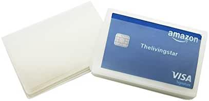10 Page Plastic Wallet Insert for Bifold Credit Card Holds Billfold Trifolds Top Load