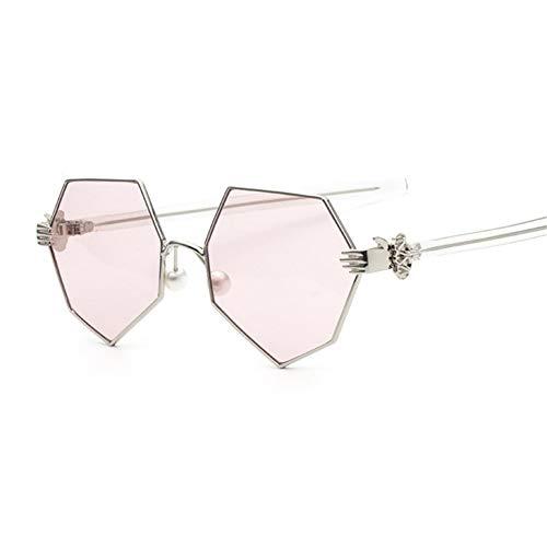 Pearl Eye gafas NIFG sol irregular Marco creativo geométrico de moda unisex de A Sun Axqf4Pw