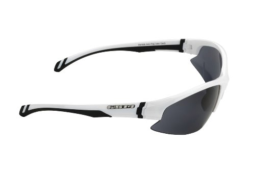Swiss Eye 12241 Lunettes de soleil de sport Flash Blanc brillant 4X98Cv6Fy
