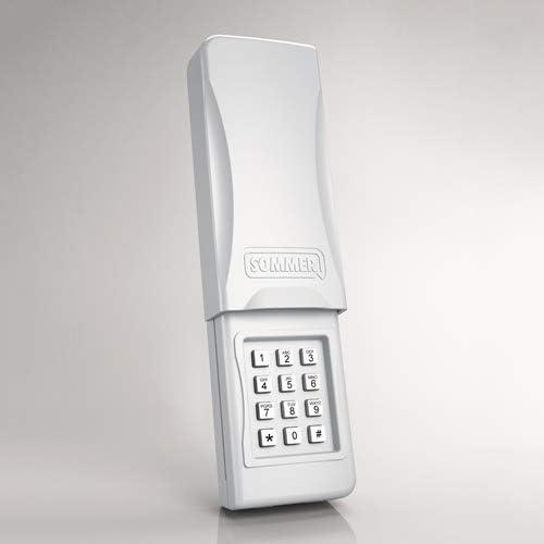 Part # 4078V003 Sommer Garage Door Opener Key-less Entry Wireless Keypad