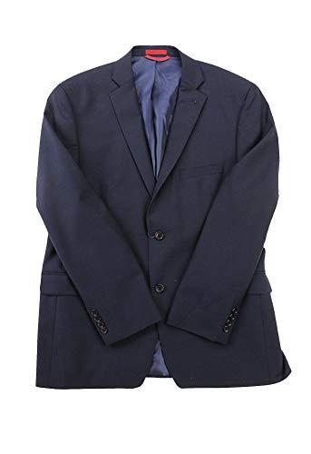 Alfani Men's Midnight Pinpoint Slim Fit Jacket S ()