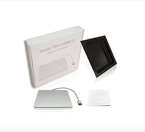 YP DVD/CD Burner External Slot-in Drive DVD VCD CD RW Player Burner Superdrive for Apple Macbook Pro Air iMAC by YP (Image #4)