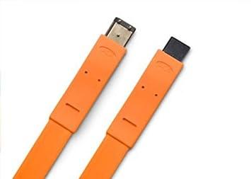 Amazon.com: LaCie FireWire 400 to FireWire 800 Flat Cable (130849 ...