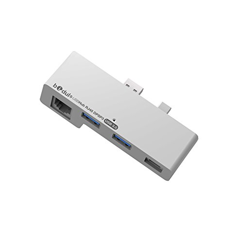 Bidul USB Hub 3.0 with Ethernet Adaptor & Display Port for Surface Pro 3