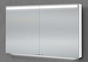 Amazon De Intarbad Spiegelschrank 90 Cm Integrierte Led
