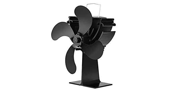 yyooo Madera Horno ecológica Ventilador 4 cuchillas térmica ...