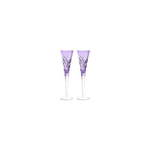 Vera Wang Wedgwood 58301900041 Duchesse Encore Toasting Flute Pair in Lavender,