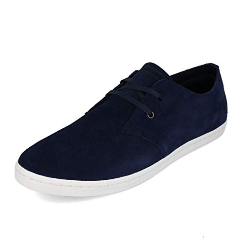 Fred Low Suede Perry Blue Byron 44 Carbon K1clJF