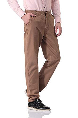 Battercake Hombres Sólidos Botón Cómodo Chinos Con Slim Colores Pantalones De Casuales Para Bolsillos ZxBqwnZfrp