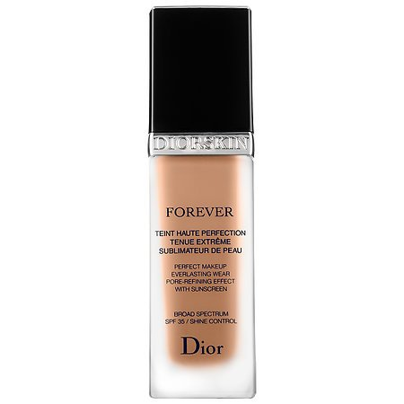 DIORSKIN FOREVER PERFECT MAKEUP EVERLASTING WEAR PORE-REFINING EFFECT SPF 35 1oz. # 030 MEDIUM BEIGE