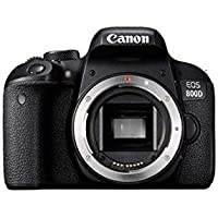 Canon EOS 800D Digital SLR Camera Body - Black