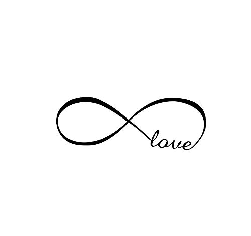 Symbol Vinyl Stickers - Love Infinity Symbol Wall Decal Home Background Decor Wall Art Sticker