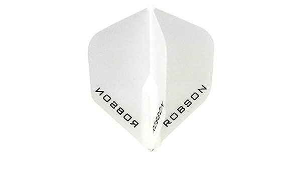 Robson Pluma Bulls Darts estandar Blanca