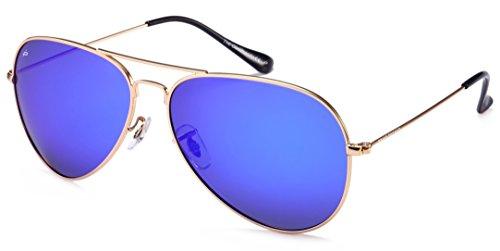 "PRIVÉ REVAUX ""The Commando"" Polarized Aviator Sunglasses - Handcrafted Designer Eyewear For Men & Women - Eyewear Handcrafted"