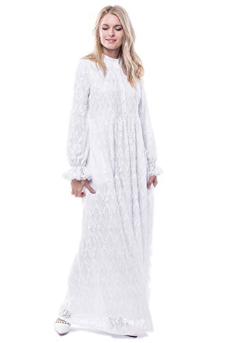ModWhite White Alisons Dress (Medium)