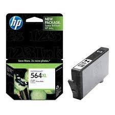 Genuine OEM brand name HP No. 564XL Photo Black Inkjet (290 Photos) CB322WN