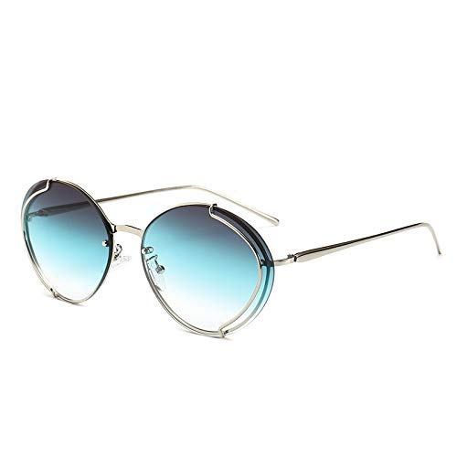 GFF Round Cat Eye Sunglasses Men Women Metal Frame Fashion UV400 Vintage Glasses 46052