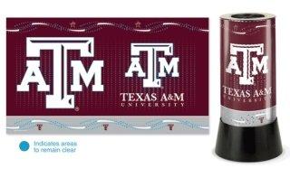 - WinCraft NCAA 2547191 Texas A&M University Rotating Lamp, 12