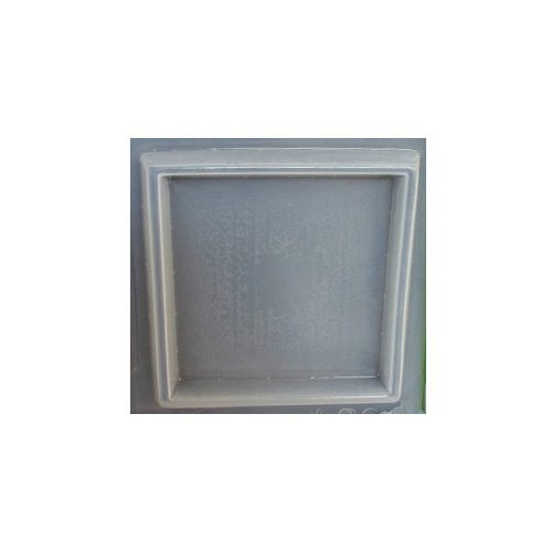 Square base coaster reusable plastic mold 584