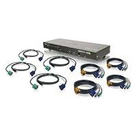 IOGear GCS1808KIT 8 Port Combo VGA KVMP Switch (GCS1808KIT)