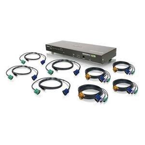 PC Hardware : IOGear GCS1808KIT 8 Port Combo VGA KVMP Switch (GCS1808KIT)
