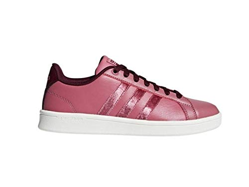 Maroon Maroon Femme trace maroon Tennis trace Cf Chaussures Adidas De Marron Advantage qvn6wRv8f