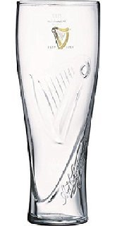 - Guinness Tall Draught Beer Glass