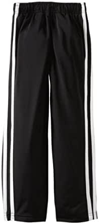 Wes and Willy Little Boys' Tricot Track Pant, Black, 5
