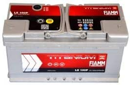 BATTERIA AUTO FIAMM cod L5100+ TITANIUM PLUS 100Ah 870A