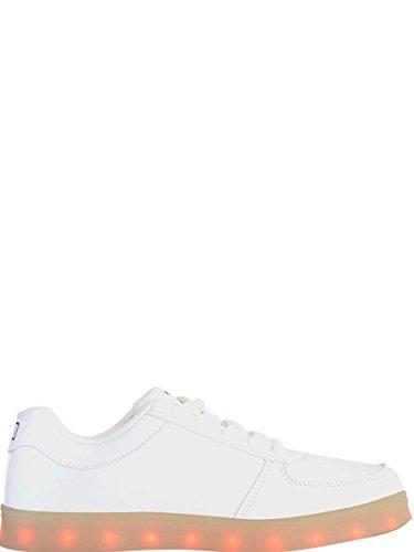 Wize & Ope Sneakers Uomo 2311WIZELIGHT Pelle Bianco