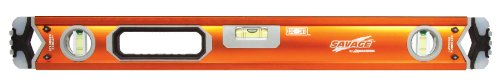 Swanson SVB600 60-Inch Savage Professional Box Beam Level with Gel End Cap (60 Inch Tool Box)