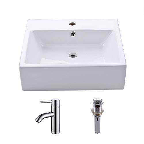 KES Bathroom Vessel Sink and Faucet Combo Bathroom for sale  Delivered anywhere in Canada