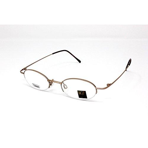 TI22 182 Titanium Prescription Eyeglasses Frame (Taupe) (Eyeglasses 182)