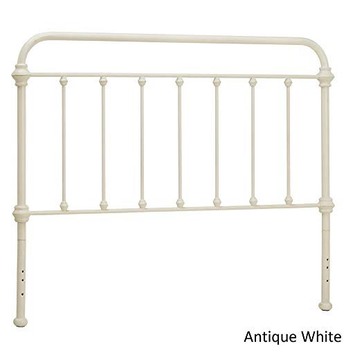 (Inspire Q Giselle Antique Graceful Victorian Metal adboard by Classic Antique White Antique Full)