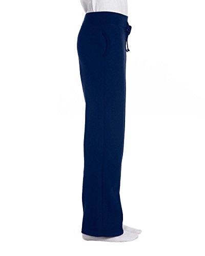Gildan Women's Open Bottom Sweatpants, Navy, Medium
