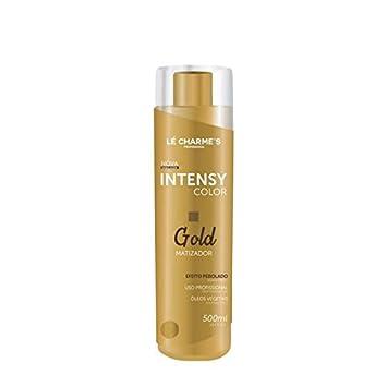ce96056e6 Amazon.com : Linha Matizadores Le Charmes Cosmeticos - Intensy Color Gold  500 Ml - (Le Charmes Cosmeticos Brassiness Control Collection - Intensy  Color Gold ...