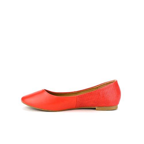 BELLELI Cendriyon Chaussures Femme Ballerine Rouge 5wTwS8