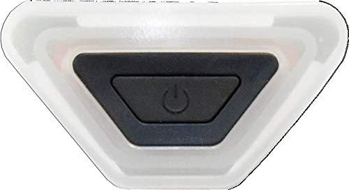 ALPINA Unisex – Volwassenen Plug-in Light III fietshelmlicht, transparant, één maat