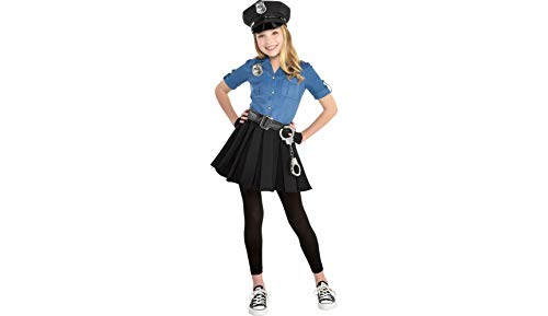 Police Dress Halloween Costume for Girls, 2T, with Included Accessories, by -